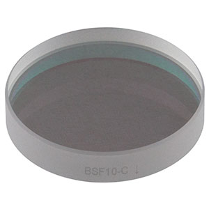 BSF10-C - Ø1in UVFS Beam Sampler for Beam Pick-Off, ARC: 1050-1700 nm, 5 mm Thick