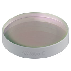 AX2505-C - 0.5°, 1050-1620 nm AR Coated UVFS, Ø25.4 mm (Ø1in) Axicon