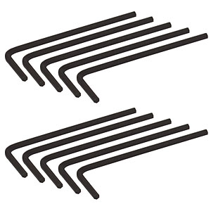 564HK - 5/64in (2.0 mm) Hex Keys, 10 Pack
