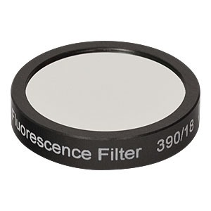 MF390-18 - BFP Excitation Filter, CWL = 390 nm, BW = 18 nm