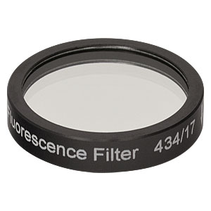 MF434-17 - CFP Excitation Filter, CWL = 434 nm, BW = 17 nm