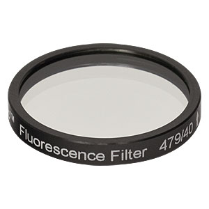MF479-40 - CFP Emission Filter, CWL = 479 nm, BW = 40 nm