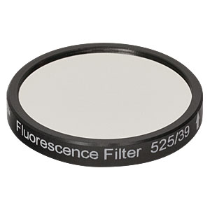 MF525-39 - GFP Emission Filter CWL = 525 nm, BW = 39 nm