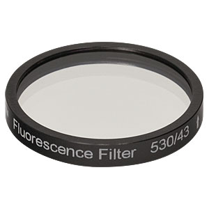 MF530-43 - FITC Emission Filter, CWL = 530 nm, BW = 43 nm