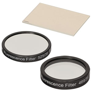 MDF-GFP - GFP Excitation, Emission, and Dichroic Filters (Set of 3)