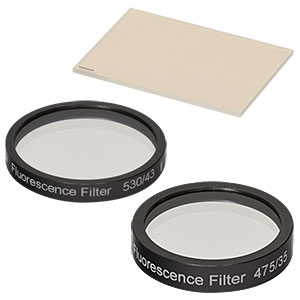 MDF-FITC - FITC Excitation, Emission, and Dichroic Filters (Set of 3)