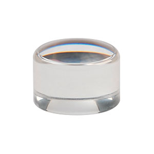 354430-A - f=5.0 mm, NA=0.15, Unmounted Geltech Aspheric Lens, AR: 400-600 nm