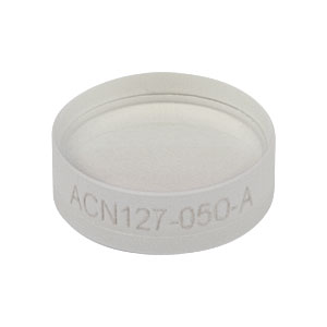 ACN127-050-A - f = -50.0 mm, Ø1/2in Achromatic Doublet, ARC: 400 - 700 nm