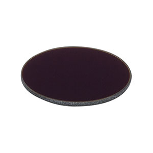 NE20B-A - Ø25 mm Neutral Density Filter, AR Coated: 350-700 nm, OD: 2.0