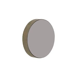 BSW710 - Ø1in ZnSe Plate Beamsplitter, Coating: 7 - 14 µm, 5 mm Thick