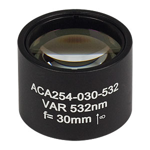 ACA254-030-532 - High-Power Air-Spaced Doublet, 532 nm, f = 30 mm