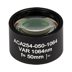 ACA254-050-1064 - High-Power Air-Spaced Doublet, 1064 nm, f = 50 mm