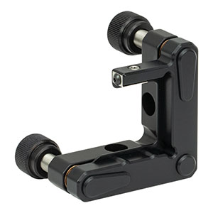 KM100S - Kinematic Mount for 1in (25.4 mm) Tall Rectangular Optics, Right Handed