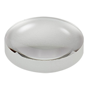 AL1225-A - Ø12.5 mm N-BK7 Aspheric Lens, f=25 mm, NA=0.230, ARC: 350-700 nm
