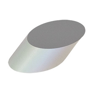 BBE05-E02 - 1/2in Broadband Dielectric Elliptical Mirror, 400 - 750 nm