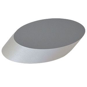 BBE1-E02 - 1in Broadband Dielectric Elliptical Mirror, 400 - 750 nm