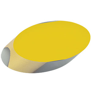 PFE10-M01 - 1in Protected Gold Elliptical Mirror, 800 nm - 20 µm