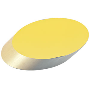 PFE20-M01 - 2in Protected Gold Elliptical Mirror, 800 nm - 20 µm
