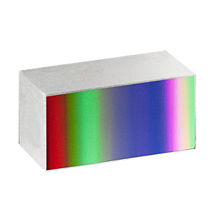 GR1325-45031 - Ruled Reflective Diffraction Grating, 450/mm, 3.1 µm Design Wavelength, 12.5 x 25.0 x 9.5 mm