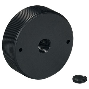 SM1AD5 - Externally SM1-Threaded Adapter for Ø5 mm Optic, 0.40in Thick