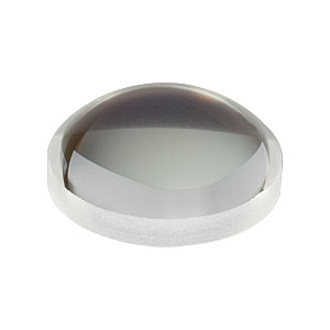 LA1540-633 - f = 15.0 mm, Ø1/2in, N-BK7 Plano-Convex Lens, 633 nm V-Coat