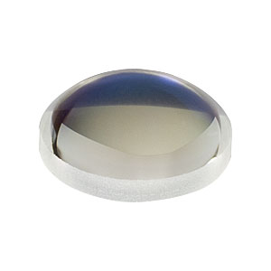 LA1540-780 - f = 15.0 mm, Ø1/2in, N-BK7 Plano-Convex Lens, 780 nm V-Coat