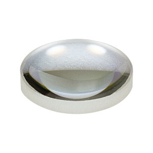 LA1074-YAG - f = 20.0 mm, Ø1/2in, N-BK7 Plano-Convex Lens, 532/1064 nm V-Coat