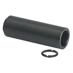 SM05L20 - SM05 Lens Tube, 2in Thread Depth, One Retaining Ring Included