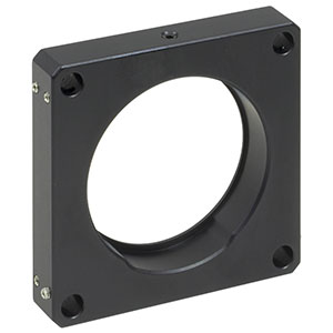 LCP06/M - 60 mm Cage Plate with Ø2in Double-Bore Optic Mount, M4 Tap