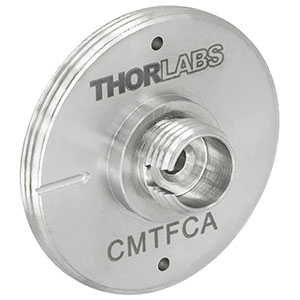 CMTFCA - FC/APC Fiber Adapter Plate with C-Mount (1.00in-32) Threads