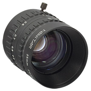 MVL25HS - 25 mm EFL, f/0.95, for 1in C-Mount Format Cameras, with Lock
