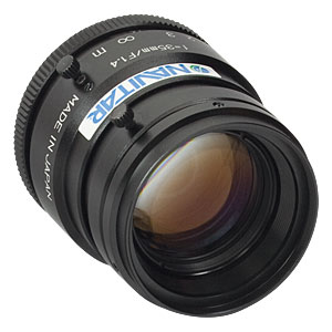 MVL35M1 - 35 mm EFL, f/1.4, for 1in C-Mount Format Cameras, with Lock