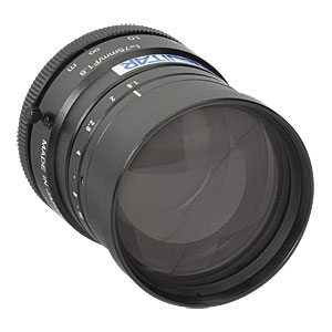 MVL75M1 - 75 mm EFL, f/1.8, for 1in C-Mount Format Cameras, with Lock