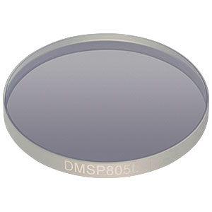 "DMSP805L - Ø2"" Shortpass Dichroic Mirror, 805 nm Cutoff"