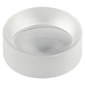 "LF5469 - Ø1"" CaF<sub>2</sub> Negative Meniscus Lens, f = -40.0 mm, Uncoated"