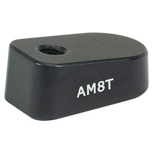 AM8T - 8° Angle Block, 8-32 Tap, 8-32 Post Mount