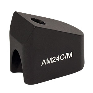 AM24C/M - 24° Angle Block, M4 Counterbore, M4 Post Mount