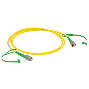 P3-830A-FC-1 - Single Mode Patch Cable, 830 - 980 nm, FC/APC, Ø3 mm Jacket, 1 m Long