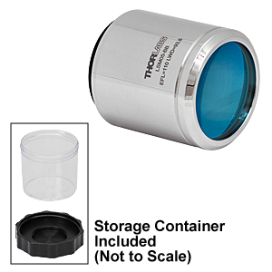 LSM05-BB - Scan Lens, 810 to 890 and 1000 to 1100 nm Dual Wavelength Bands, EFL=110 mm