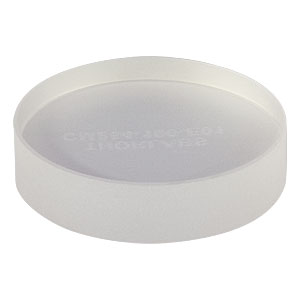 CM254-100-E01 - Ø1in Dielectric-Coated Concave Mirror, 350 - 400 nm, f = 100 mm