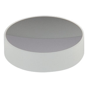 CM254-050-E02 - Ø1in Dielectric-Coated Concave Mirror, 400 - 750 nm, f = 50 mm