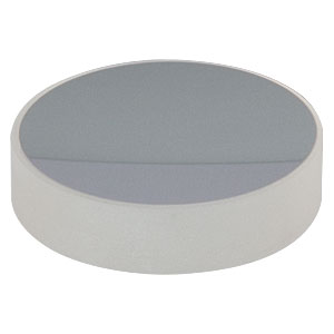 CM254-100-E02 - Ø1in Dielectric-Coated Concave Mirror, 400 - 750 nm, f = 100 mm