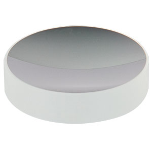CM508-050-E02 - Ø2in Dielectric-Coated Concave Mirror, 400 - 750 nm, f = 50 mm