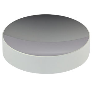 CM750-075-E02 - Ø75 mm Dielectric-Coated Concave Mirror, 400 - 750 nm, f = 75 mm