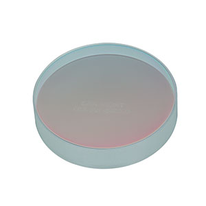 CM508-100-E03 - Ø2in Dielectric-Coated Concave Mirror, 750 - 1100 nm, f = 100 mm