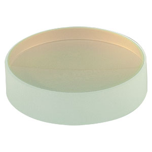 CM254-075-E04 - Ø1in Dielectric-Coated Concave Mirror, 1280 - 1600 nm, f = 75 mm