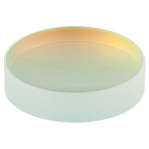 CM508-050-E04 - Ø2in Dielectric-Coated Concave Mirror, 1280 - 1600 nm, f = 50 mm
