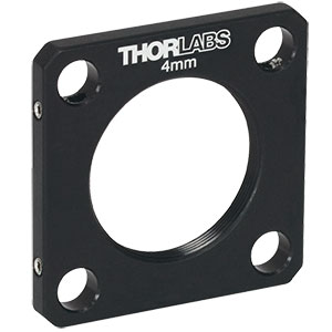 CP4S - SM1-Threaded 30 mm Cage Plate, 4.0 mm Thick