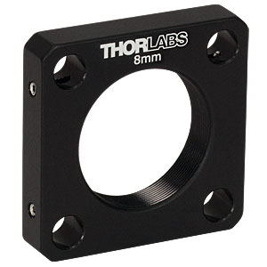 CP8S - SM1-Threaded 30 mm Cage Plate, 8 mm Thick