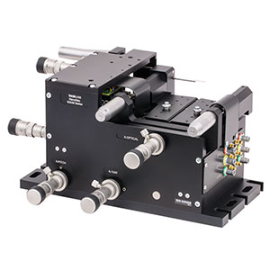 MAX603D/M - 6-Axis NanoMax Stage, Differential Drives, Closed-Loop Piezos, Right-Handed, Metric